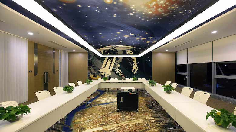 Suzhou Bozhong Seiko Robot R&D Center: Carpets with visions