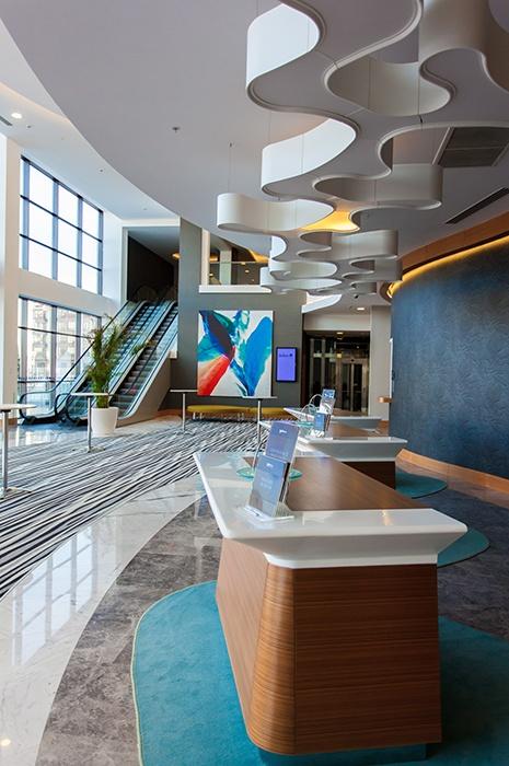 Ege carpet flooring at Radisson Blu Paradise Resort & Sochi