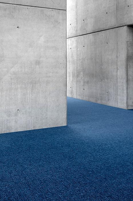 Rugged blue wall to wall carpet - Ege Carpets