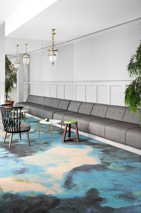 Fields of flow wall to wall carpet in cosy settings