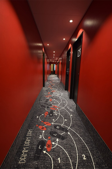 Carpets for high traffic areas