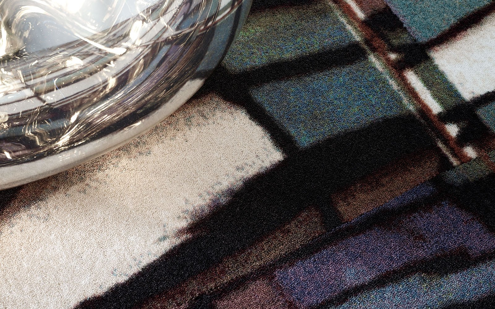 A close-up of wall-to-wall carpet from ege's Una concept