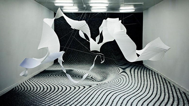 3 Carpet trends: Optical Illusions, Geometry and Dark Ambient