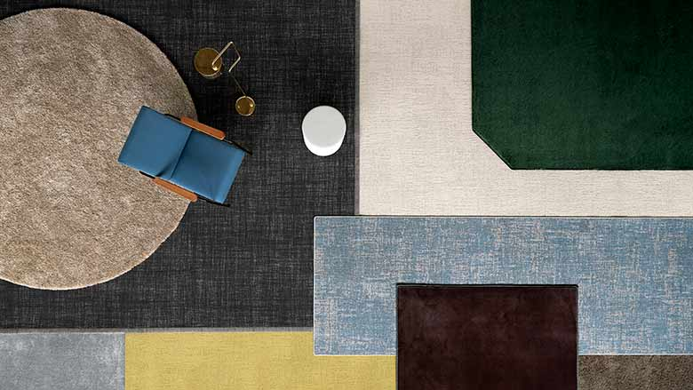 Chromatism: A rug collection structured around colours